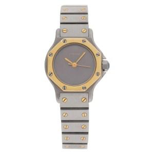 Cartier Santos 18k 24mm Quartz watch