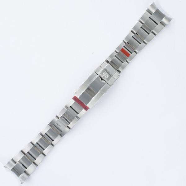 """Rolex Oyster stainless steel band bracelet 20mm x 6.5"""" length"""
