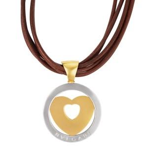 Bvlgari heart pendant