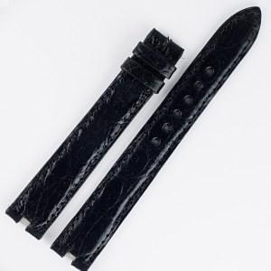 Cartier black alligator strap (16x14)
