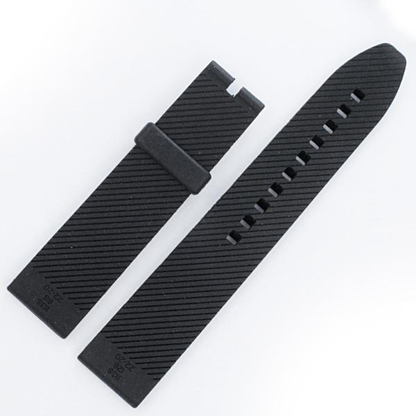 Breitling Rubber strap black (22x20mm)