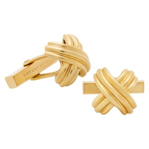 Tiffany & Co. cufflinks