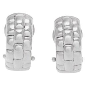 Fope Gioielli huggie earrings in 18k white gold