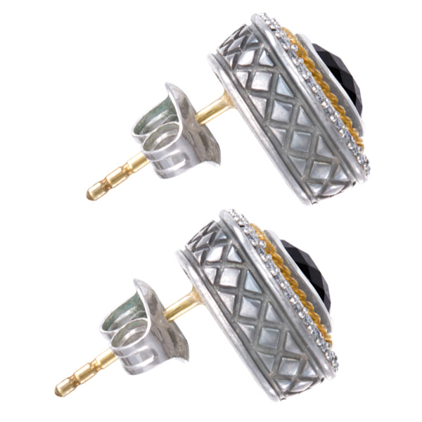 Onyx earrrings by Andrea Candela