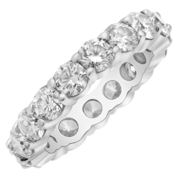 Diamond band with approx. 4 carats in diamonds
