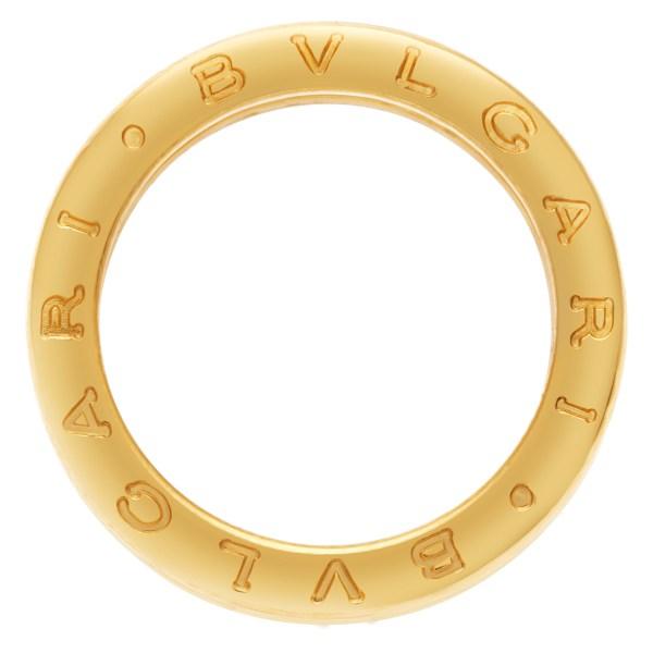 Bvlgari B-Zero 1 with diamonds in 18k yellow gold