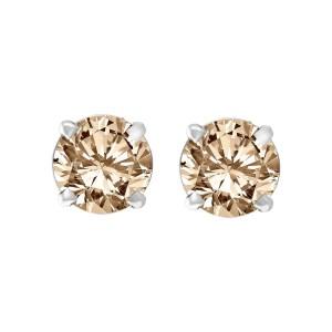 Gorgeous Diamond studs set in 14k white gold. 4.00 carats