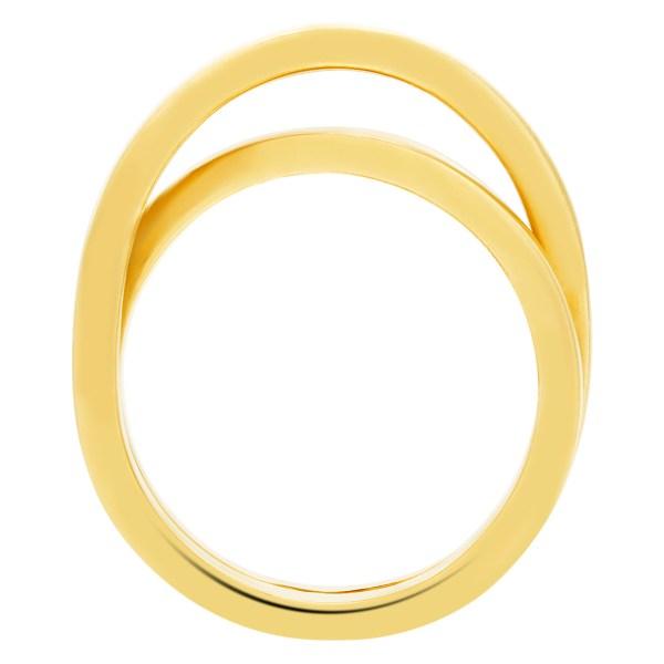 Cartier Crossover ring in 18k
