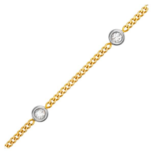 Diamonds by the yard 14k yellow gold 1.83 carats