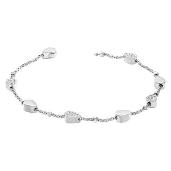 Piaget Lucea diamond bracelet 18k white gold