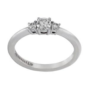 Tiffany & Co. Diamond ring in platinum