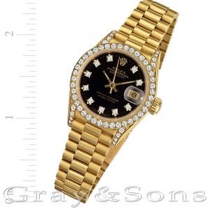 Rolex Datejust 69158 18k 26mm auto watch