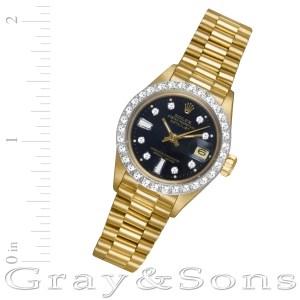 Rolex Datejust 6917 18k 26mm auto watch