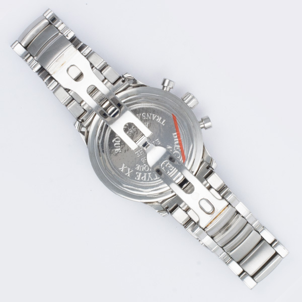 Breguet Transatlantique 3820 stainless steel 39mm auto watch