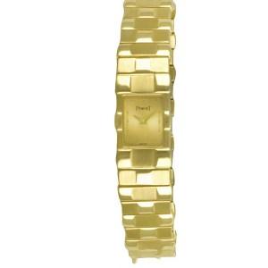 Piaget Polo 15281 C 581 18k 14mm Quartz watch