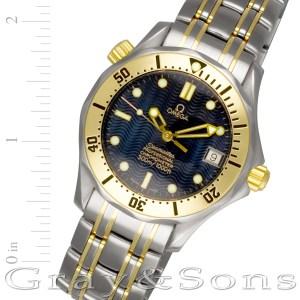 Omega Seamaster 2352.80 18k & steel 35mm auto watch