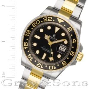 Rolex GMT-Master II 116713LN 18k & steel 40mm auto watch
