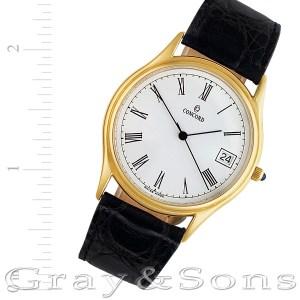 Concord 944516 14k 34mm Quartz watch
