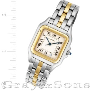 Cartier Panthere W25028B6 18k & steel 27mm Quartz watch