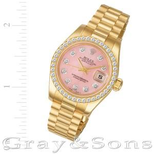 Rolex Datejust 179178 18k 26mm auto watch