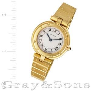 Cartier Santos 18k 27mm Quartz watch