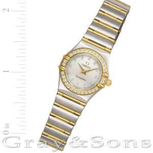 Omega Constellation 1267.75.00 18k & steel 22.5mm Quartz watch
