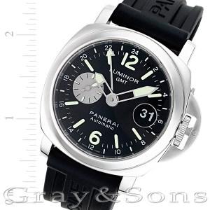 Panerai Luminor GMT PAM 88 stainless steel 44mm auto watch