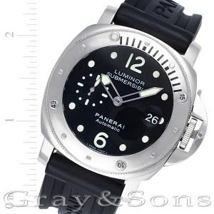 Panerai Luminor pam00024 stainless steel 42mm auto watch