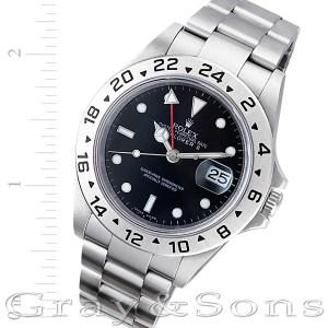 Rolex Explorer II 16750T stainless steel 39mm auto watch