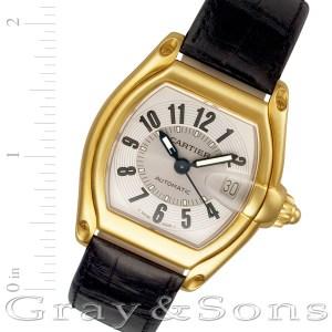 Cartier Roadster W62005V2 18k mm auto watch
