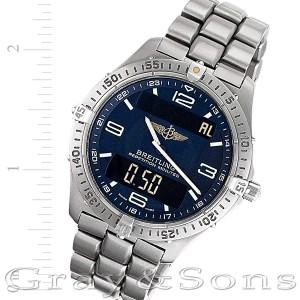 Breitling Aerospace E65062 titanium 40mm Quartz watch