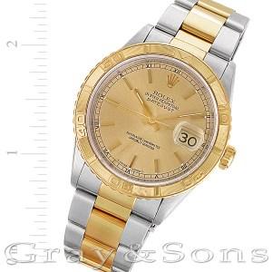 Rolex Datejust 16263 18k & steel 36mm auto watch