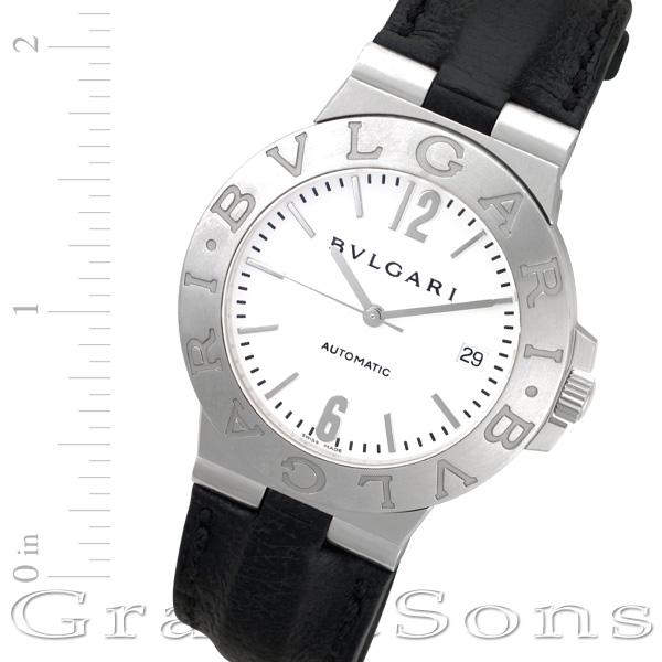 Bvlgari Diagono lvc38s stainless steel 38mm auto watch