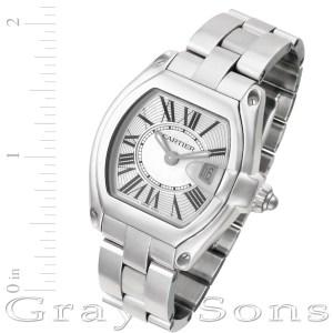 Cartier Roadster W62016V3 stainless steel 30mm Quartz watch