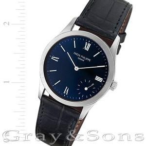Patek Philippe Calatrava 5026 white gold 33mm auto watch