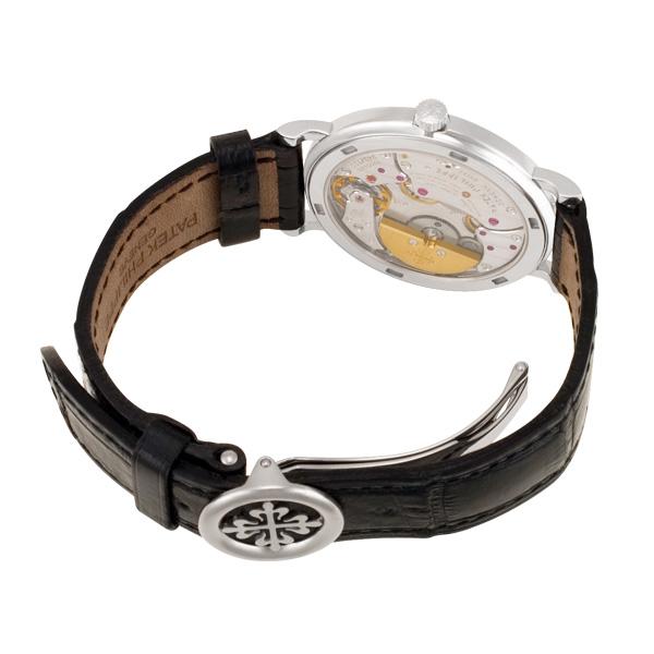 Patek Philippe Calatrava 5120 18k white gold 34.5mm auto watch