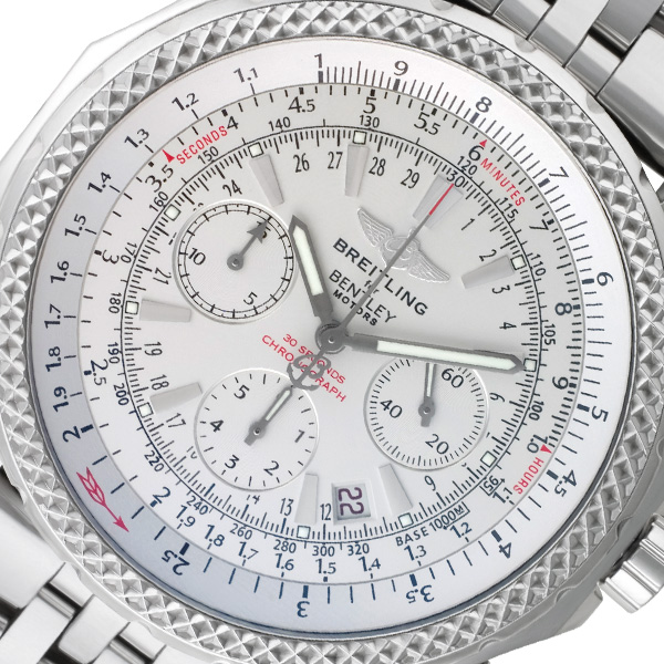 Breitling Bentley a25362 stainless steel 40mm auto watch