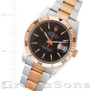 Rolex Datejust 116261 18k & steel 36mm auto watch