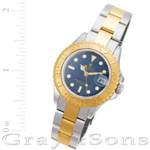 Rolex Yacht-Master 169623 18k & steel 29mm auto watch