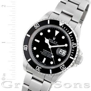 Rolex Submariner 16610 stainless steel 40mm auto watch