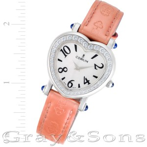 Corum Heart 24.183.47 stainless steel 30mm Quartz watch