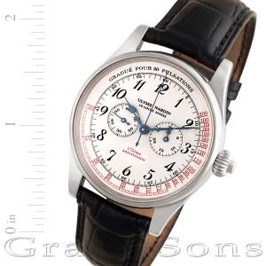 Ulysse Nardin Pulsations 175th 380-22 18k white gold 37mm Manual watch