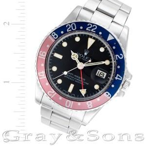 Rolex GMT-Master 1675 stainless steel 40mm auto watch