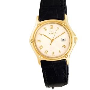Ebel 1911 883909 18k 32mm Quartz watch