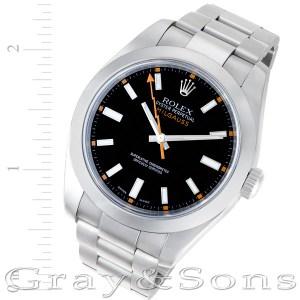 Rolex Milgauss 116400 stainless steel 40mm auto watch