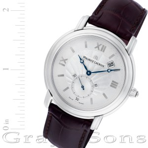 Maurice Lacroix Masterpiece MP7028 stainless steel 40mm Manual watch
