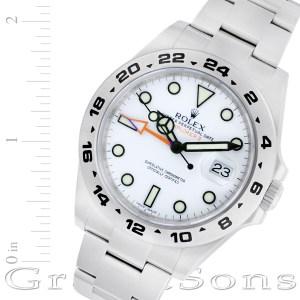 Rolex Explorer II 216570 stainless steel 42mm auto watch