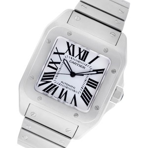 Cartier Santos 100 W200737G stainless steel 38mm auto watch