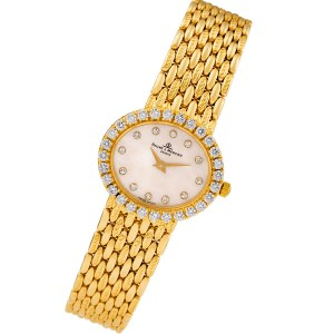 Baume & Mercier 18310 9 18k 24mm Quartz watch