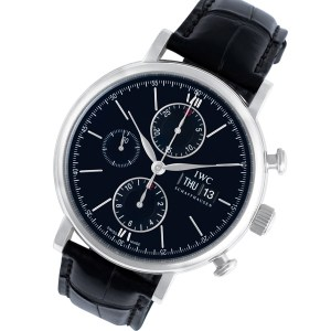 IWC Portofino IW391008 stainless steel 42mm auto watch